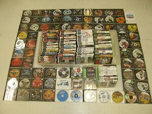 184 Jeux Vidéo pour 120$ PS2 Xbox 360 PS1 Wii - Vente ou Échange