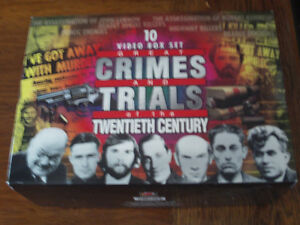 Great Crimes And Trials of the Twentieth Century VHS Box Set