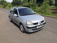 Renault Clio 1.2 16V Dynamique, 1 Previous Owner, 72K miles, Service History, 2xkeys