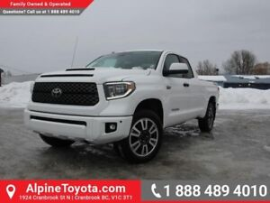 2018 Toyota Tundra TRD Sport Package  4x4 - TRD Sway Bar - TRD S