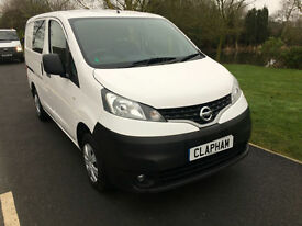 2015 65 NISSAN NV200 ACENTA CREW 1.5 DCI 90 BHP FSH 1 COMPANY OWNER 42000 MILES