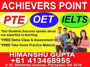 PROFESSIONAL PTE - OET - IELTS COACHING (3 HRS FREE DEMO CLASS) Plympton West Torrens Area Preview