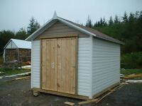 NEW Insulated ulity shed