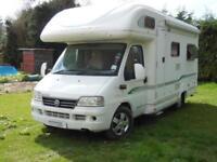 Bessacarr E725 2 Berth Rear Lounge Motorhome For Sale