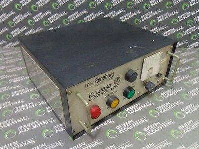 Used Itw Ransburg Ecu9030 Paint Gun Control Unit Power Supply