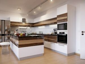 WE WRAP YOUR EXISTING KITCHEN AND BATHROOM CABINETS!