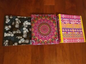 Assorted 1inch and 1.5inch Binders for sale