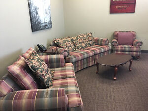 Sofa, Loveseat,Chair and coffee table