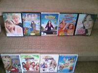 Misc DVD's -Hanna Montana, My Girl, Sonny, Penelope etc $1 each