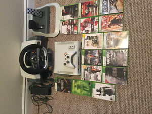 XBOX 360 and Force Feedback Racing Wheel