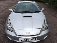 Cheap 2004 Toyota Celica 1.8L VVTI Car For Sale Mot-09-2017 LONG MOT Bargain Price Only £989 ONO
