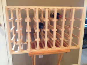 Wine Racks - Custom Made, any size, different woods available
