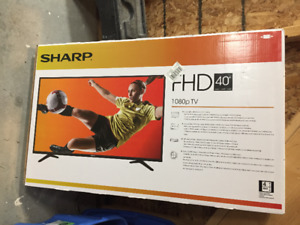 """FHD 40"""" TV new never used"""