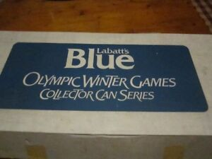 Labatts Blue Olyimoic Winter Games Collector Series