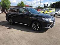 2016 Mitsubishi Outlander 2.0 PHEV 4h 5dr Auto Petrol/PlugIn Elec Hybrid black A
