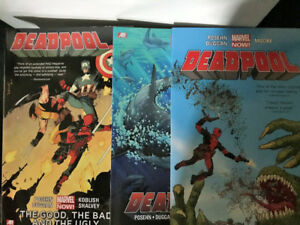 Deadpool Trade Paperback complete collection $70 OBO