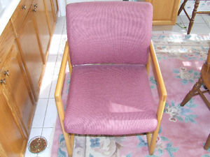 Nice Quality Wood & Material Chairs London Ontario image 1
