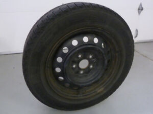 4 Toyota Size Winter Tires on Steel Rims