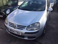 2004 Volkswagen Golf 1.6 FSI SE 5dr 10 months mot only £1299