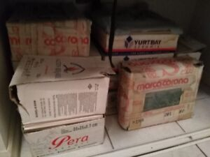 Various unused floor and wall tiles for best offer or trade