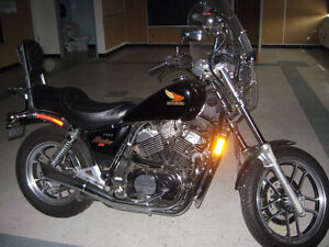 1984 HONDA SHADOW -  LAST POSTING