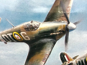 "WW2 Robert Taylor ""Hurricane"" limited signed print"