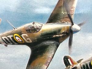 "WW2 Robert Taylor ""Hurricane"" limited signed print"
