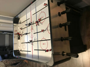Hockey Games Table