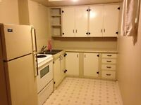 One bedroom basement suite - everything included