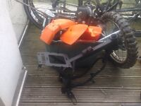 Pit bike spares and frame and engine