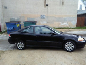2000 Honda civic safetied clean title mint shape