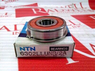 Ntn Bearing 6302-llu-nr2a 6302llunr2a New No Box