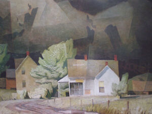 "Initialed A. J. Casson-""Sun After Thunder"" Artists Proof Kitchener / Waterloo Kitchener Area image 10"