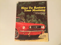 How to Restore Your Mustang 1964-1973 by Larry Dobbs Shelby Boss