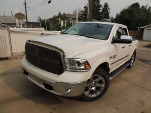 2014 RAM 1500 Laramie Quad Cab, loaded