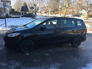 2012 Mazda5 GS (Black, Automatic, 109K, Bluetooth, Winter Tires)