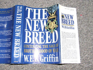 The New Breed - 1st Edition/1st Printing - W.E.B. Griffin - $20 Belleville Belleville Area image 6
