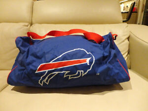 "NFL Buffalo Bills Duffle Bag 20""x10""x10"" in Awesome Condition"