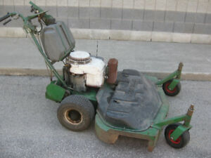 "Commercial 48"" self-propelled lawnmower"