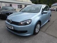 2011 VOLKSWAGEN GOLF S TDI BLUEMOTION ** £0 ZERO RATED TAX - FULL SERVICE ** HA