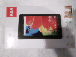 """Brand New 7""""RCA Android 6 Tablet. 1 GB RAM,Quad Core"""