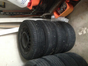 205/55/16 Cooper CS5 tires/rims for sale