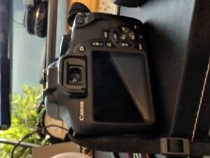 Canon EOS T6 Rebel DSLR Camera Kit + F 1.8, 50mm Lens