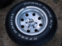 Four Light Truck Sport Rims/Tires