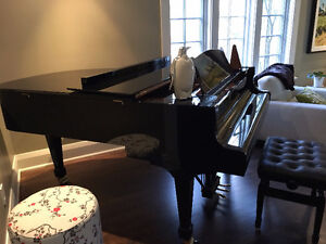 Grand Piano Model PE 162 with a stool