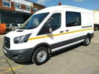 2017 17 FORD TRANSIT WELFARE UNIT / CREW CAB / DCIV WITH REAR WC PLUS MUCH MUCH