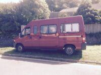 Peugeot boxer minibus 39,000 miles