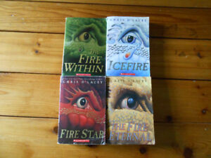 THE LAST DRAGON CHRONICLES by CHRIS d'LACEY (4 books set)