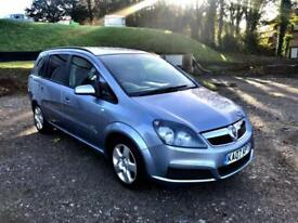 2007 Vauxhall Zafira 1.6i 16v Club 7 Seater Finance Available