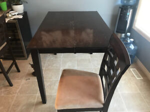 Used Table and 4 chairs